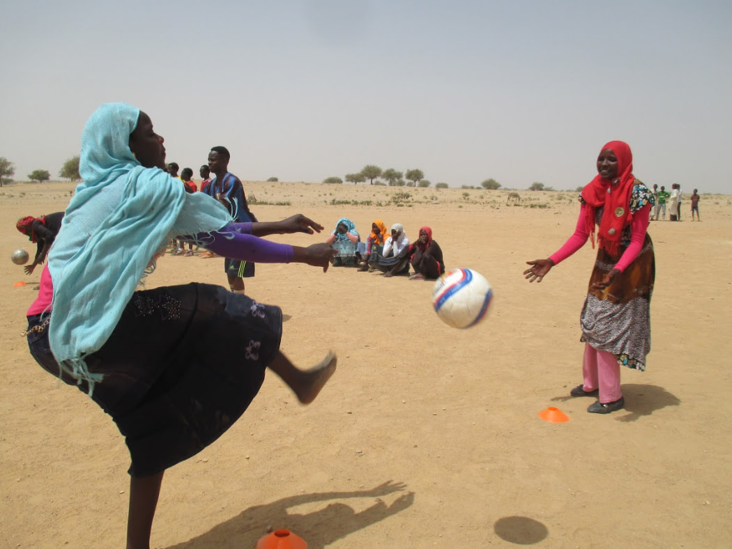 Stingz to create football kits for newly formed Darfur United women's team