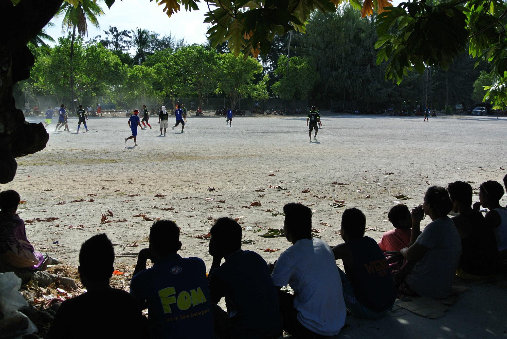 CONIFA travels to Kiribati to meet with Pacific member KIFA