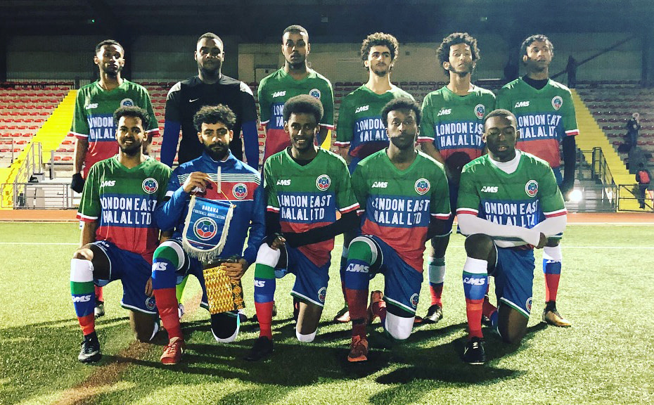 Host team Barawa prepared to make their World Football Cup debut