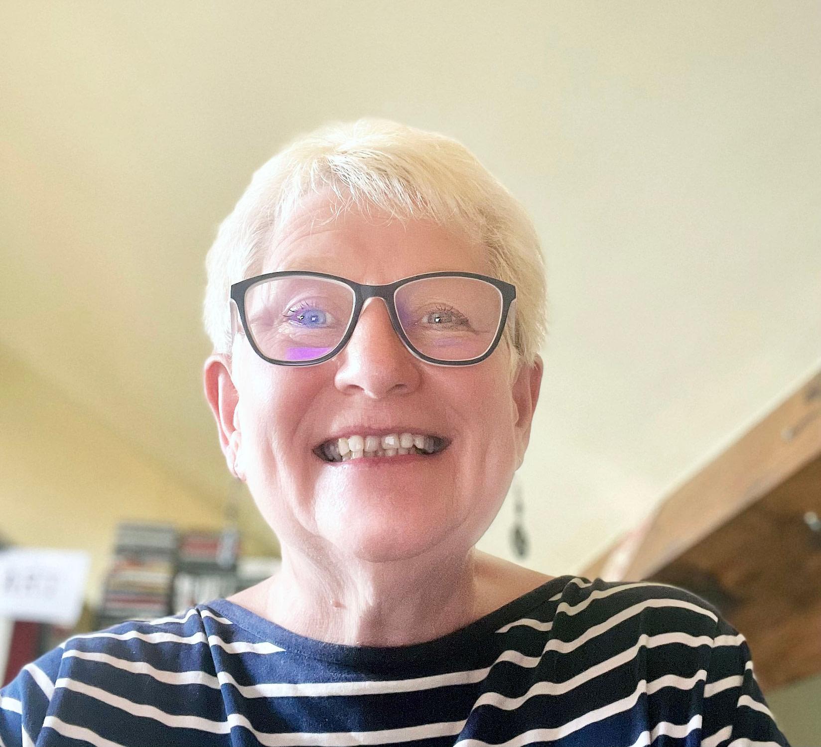Susan Coles selfie