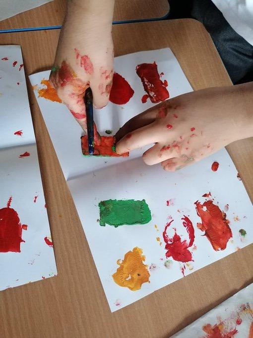 Devonshire Road Primary School year 4 Kandinsky example 3