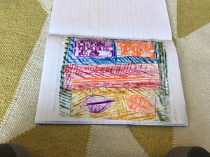 Example rubbing from Earlsfield primary school 1