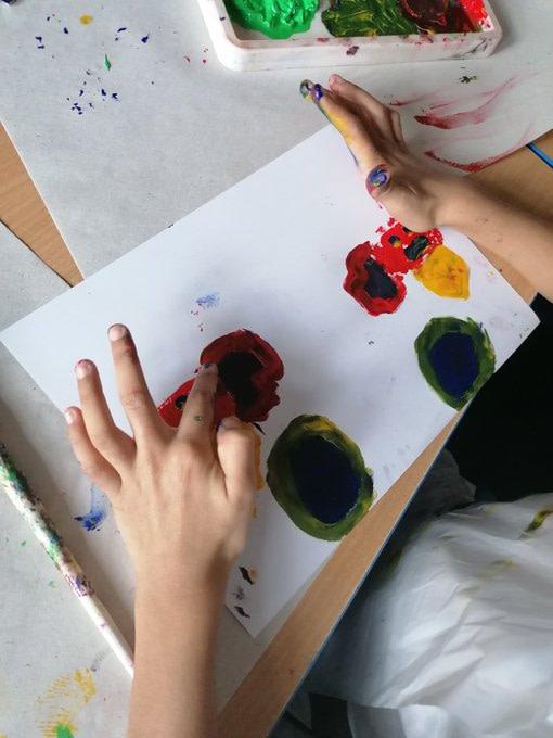 Devonshire Road Primary School Kandinsky example 2