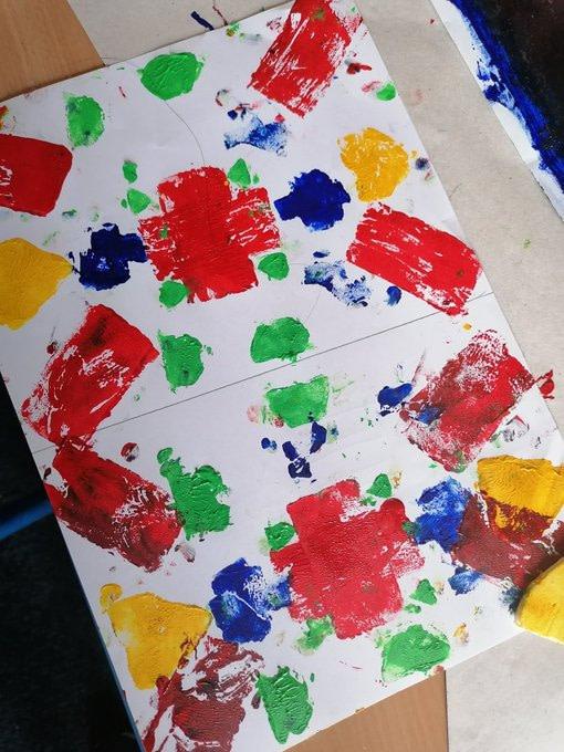 Devonshire Road Year 4 Kandinsky example 1