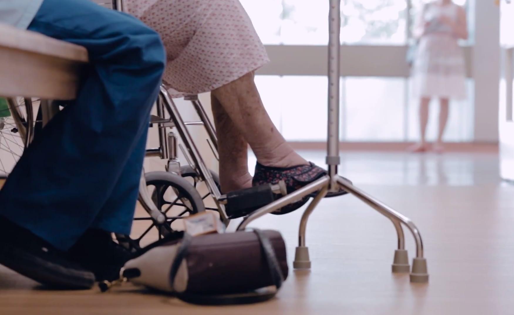 Patient sitting