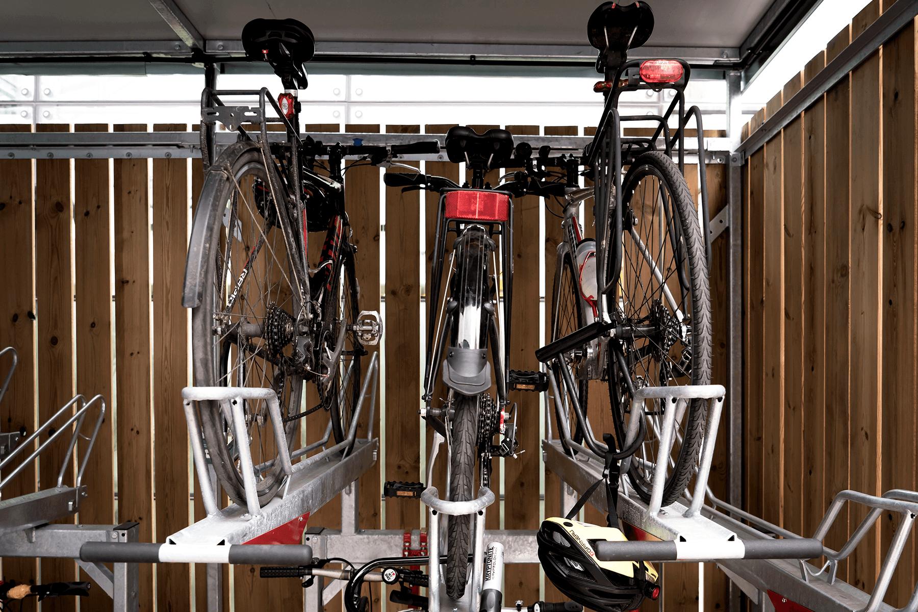 User-friendly Double Stacker Bike Storage Facility