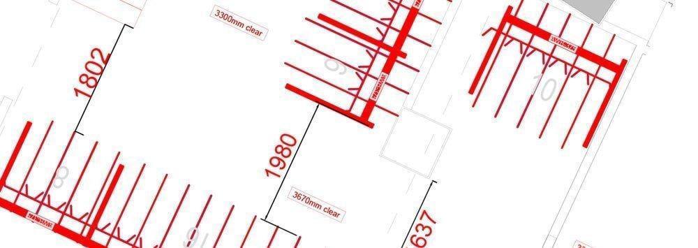 Bicycle Parking CAD Blocks