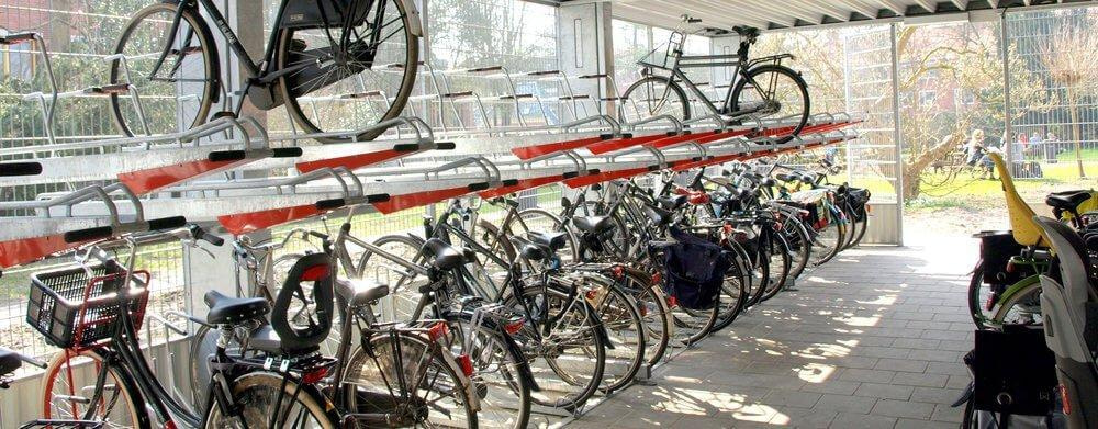 Where to locate new cycle parking