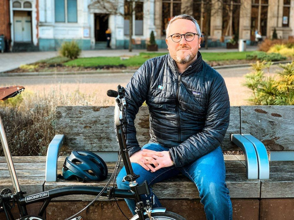 """Adam Tranter: """"Cycle parking is genuinely a really important part of the puzzle"""""""