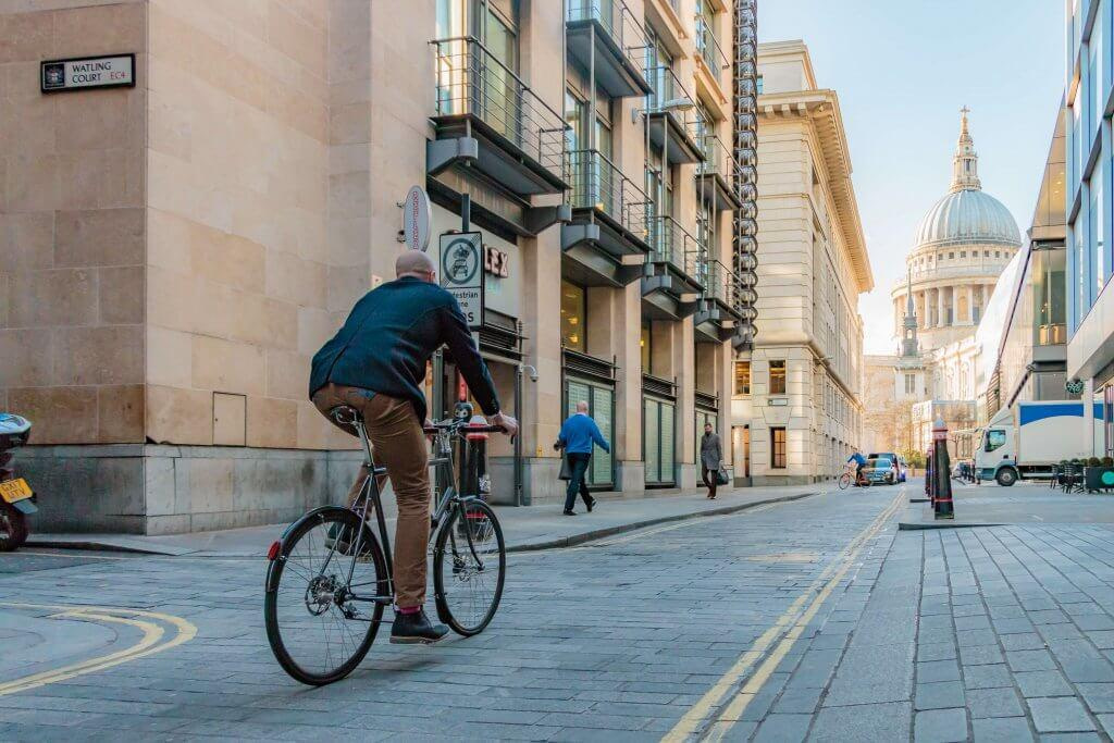 Cyclist visibility and the Highway Code