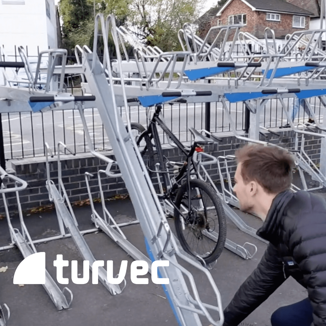 cycle parking orpington railway station video image