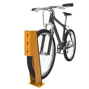Bike wheel chock