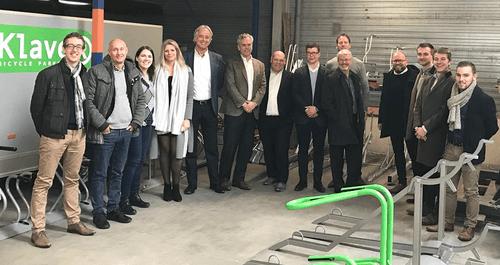 5 year Klaver Fietsparkeren contract extension