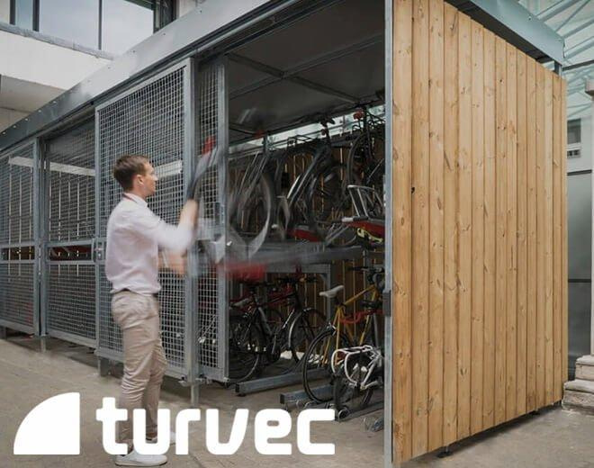 cubic cycle shelter turvec