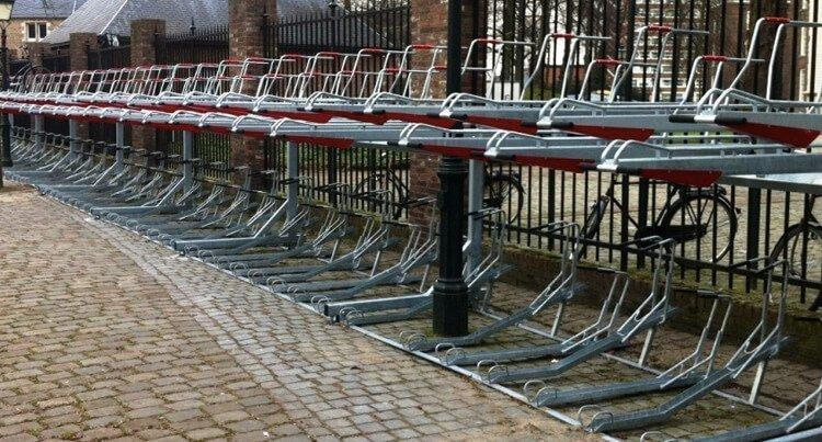 Double stacked bike rack – which variant?