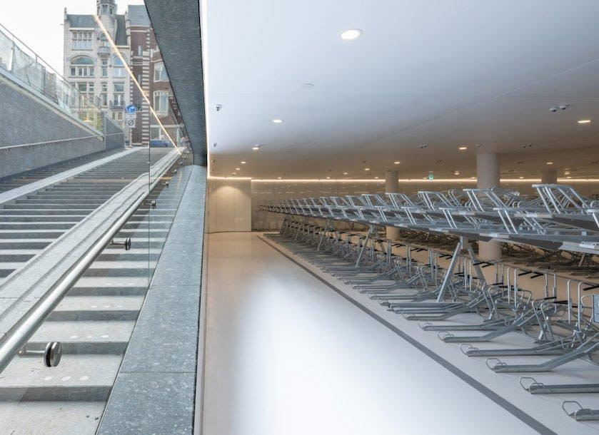 The Two-Tier Secret Behind Dutch Bicycle Parking Garages