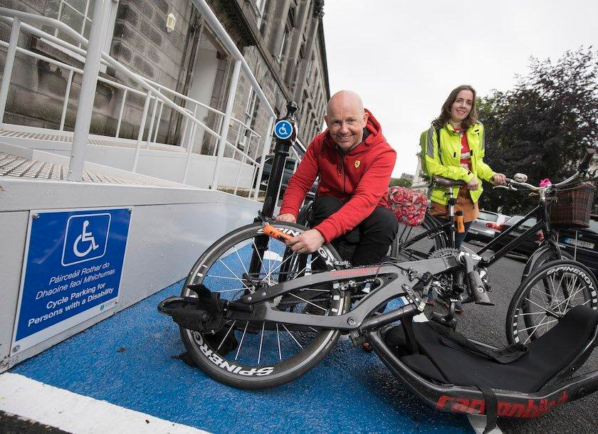How Can We Design Accessible Cycle Parking?