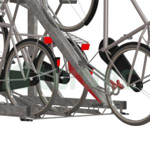Clicker Support Bike Rack
