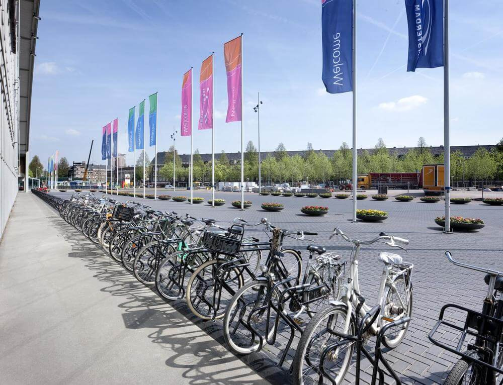 Bike Racks In Amsterdam Turvec image