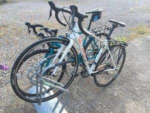 Welshpool cycle racks image
