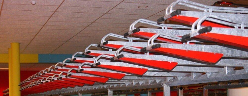 Sheffields Below With Two Tier Bike Rack
