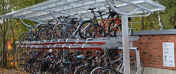 Cycle parking design guidance image