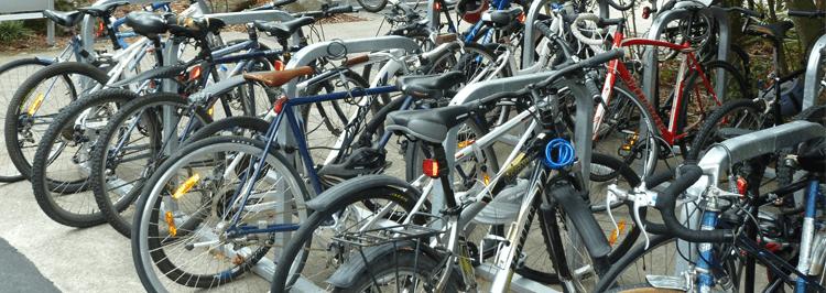 Bikes parking image