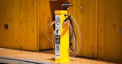 Public Bicycle Pump Turvec image