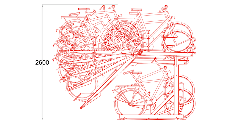 Turvec bike rack Guide image