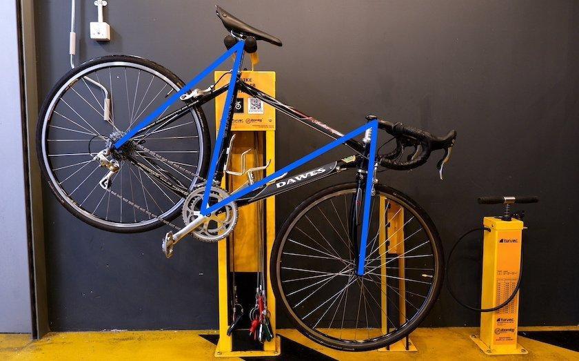 m check bike repair station
