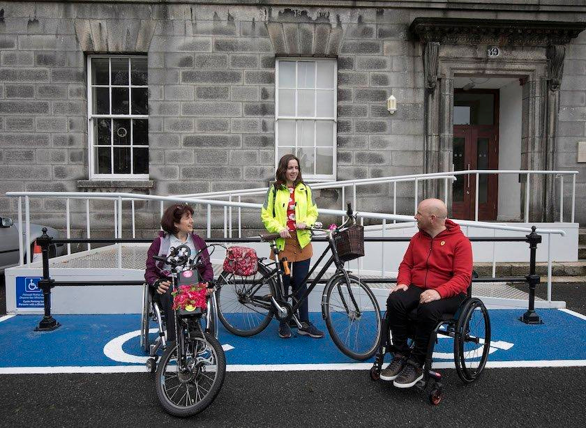 accessible cycle parking