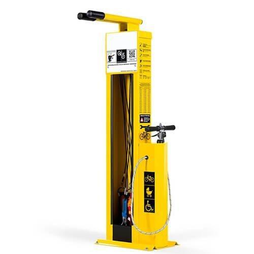 Pump and repair station pump