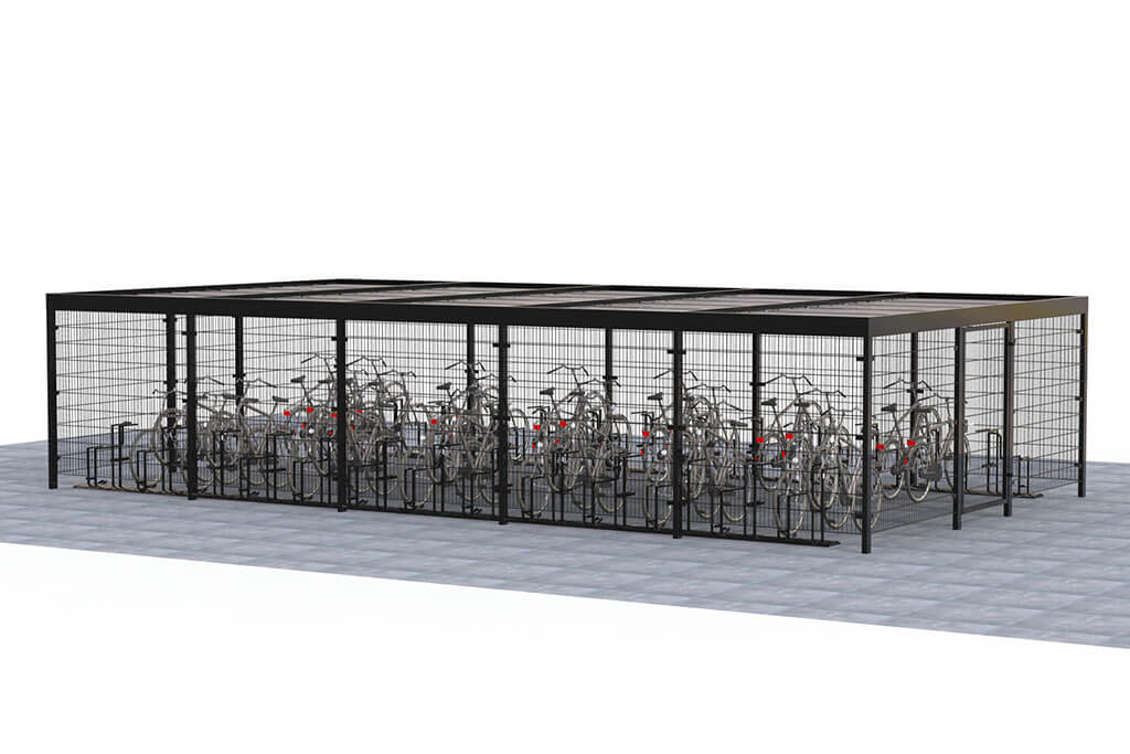 Mesh cycle shelter