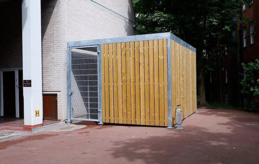 Residential Secure Bicycle Shelter