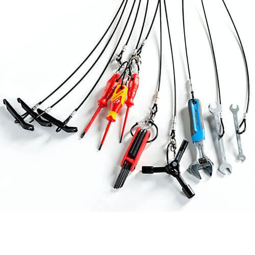 Spare bike repair tools