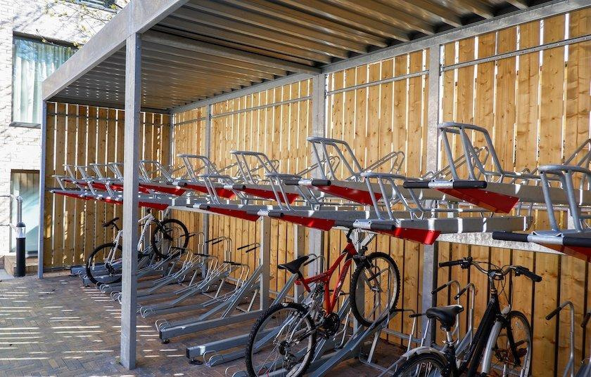 Turvec Open Cycle Shelter