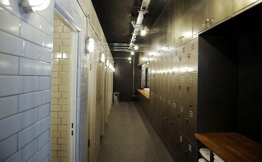 changing room cycle lockers