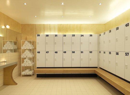 clothing lockers