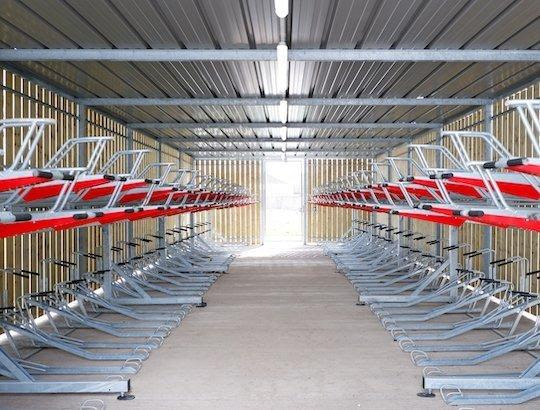 double tier turvec bike rack
