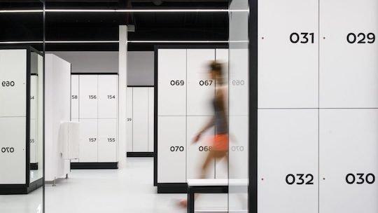 fitness facility lockers