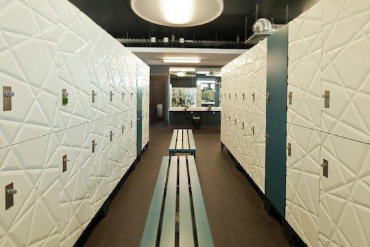 panelled kit lockers