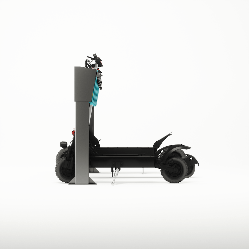 Electric Scooter Docking Station image 02