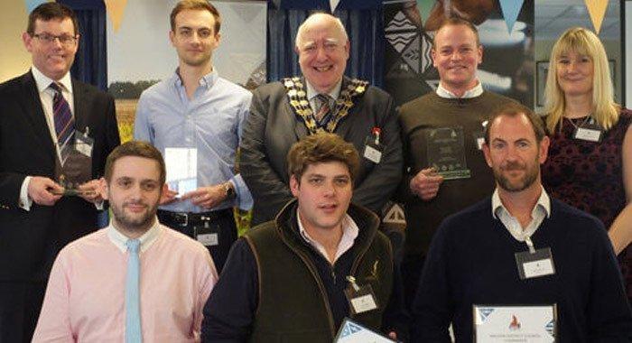 Essex chairman's business award