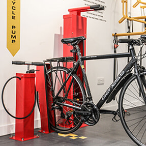 Turvec Cycle Storage