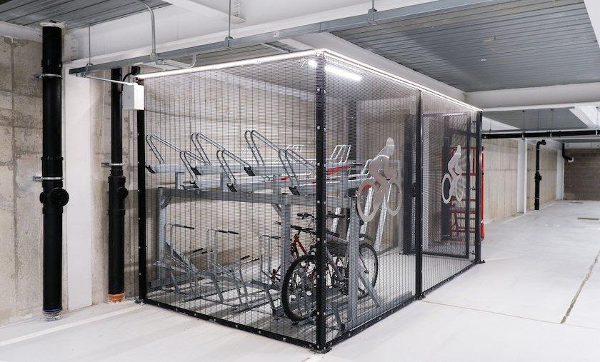 Secure Cycle Caging